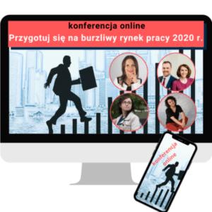 """VOD – Konferencja """"Przygotuj się na burzliwy rynek pracy 2020 r."""""""